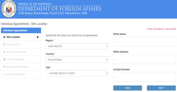 Dfa Passport Appointment System Application Form, How To Cancel Or Reschedule Your Philippine Passport, Dfa Passport Appointment System Application Form