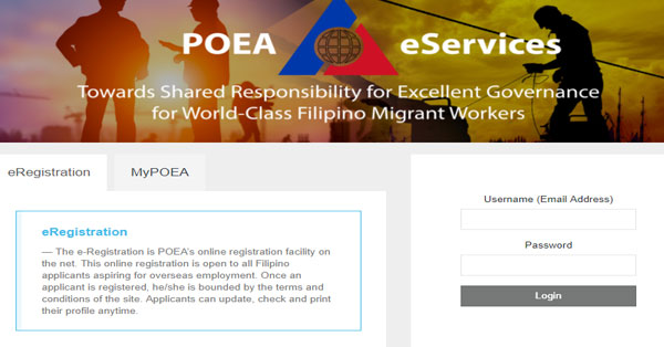 POEA-e-Registration-System