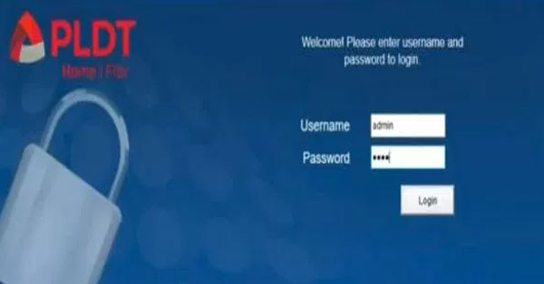 How to Change the Default Username and Password of Your PLDT