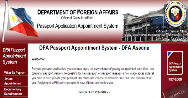 How-to-Set-DFA-Passport-Appointment-Online