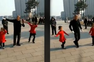 Grandpa-and-Two-Granddaughters-Give-Goosebumps-When-They-Danced-Together-1