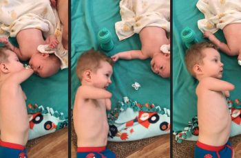 Toddler-Helped-His-Crying-Baby-Brother-Even-When-He-Has-No-Hands-and-Legs