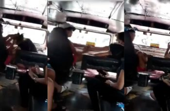 Wife-Catches-Jeepney-Driver-with-Mistress-Causing-a-Commotion-Inside-the-Jeepney