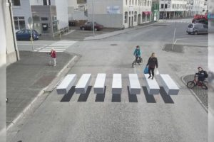 3D Crosswalk Bars