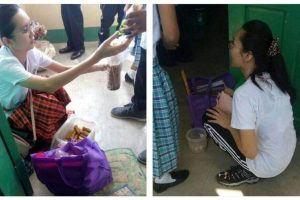 Netizens Praise a Grade 12 Student Selling Lumpia at School