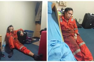 Photos of an Exhausted Seaman Went Viral